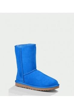 UGG CLASSIC SHORT BRILLIANT BLUE