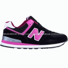 Кроссовки New Balance 574 Black/Pink