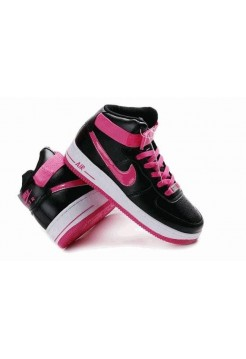 Кроссовки Nike Air-Force Black/Pink