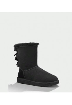 UGG Bailey Bow Black (НМОАS845)