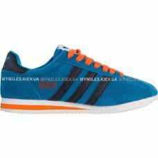Кроссовки Adidas Gazelle Blue/Orang (М-364)