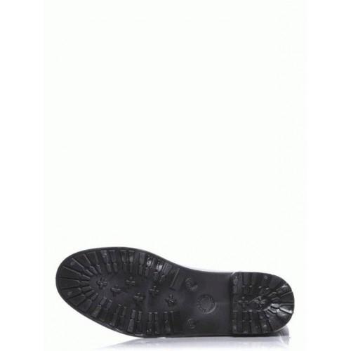 Комбинированные резиновые сапоги 46400-black-romb
