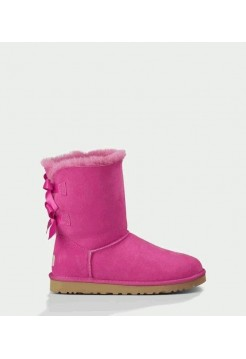 UGG BAILEY BOW PRINCESS PINK