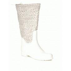 Комбинированные резиновые сапоги 4663-white-leop