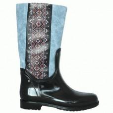Комбинированные резиновые сапоги 4699-1-03 джинс