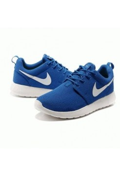 Кроссовки Nike Roshe Run Blue/bl (РVА187)