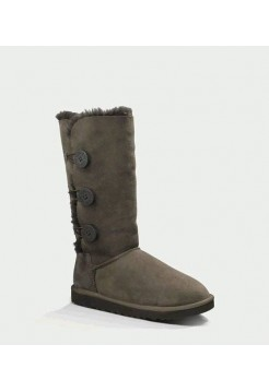 UGG BAILEY BUTTON TRIPLET CHOCOLATE (НS466)