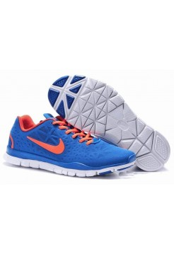 Кроссовки Nike Free Run 3.0 Blue and Orange (М157)