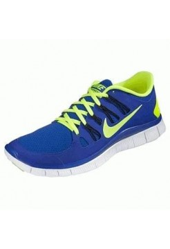 Кроссовки Nike Free Run 3.0 Blue and Latuce (МО-157)