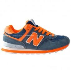 Кроссовки New Balance 574 Orange
