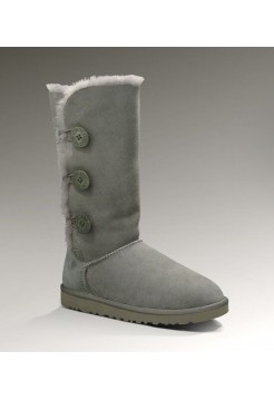 UGG Bailey Button Triplet Grey (S447)