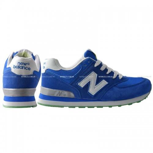 Кроссовки New Balance 574 Blue/Wh (М631)
