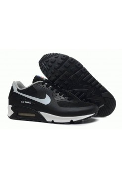 Кроссовки Nike Air Max 90 Hyperfuse Black White USA (О771)