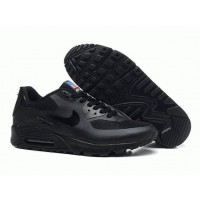 Кроссовки Nike Air Max 90 Hyperfuse Black USA (ОМ-421)