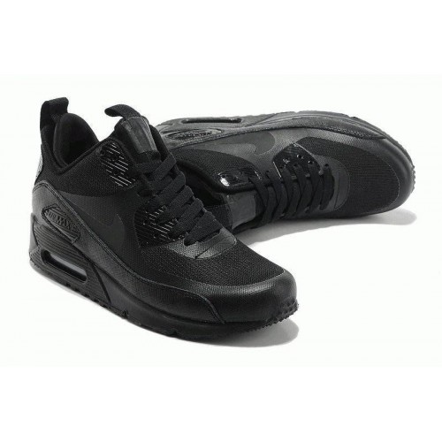 Кроссовки Nike Air Max Sneakerboot All Black (ОЕ321)