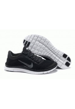 Кроссовки Nike Free Run 3.0 V5 Mens Black Reflect Silver