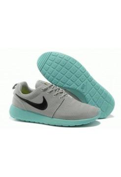 Кроссовки Nike Roshe Run II Серый/голубой (OV-124)
