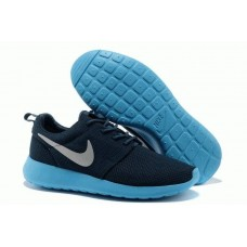 Кроссовки Nike Roshe Run II All Blue (OVЕ-621)