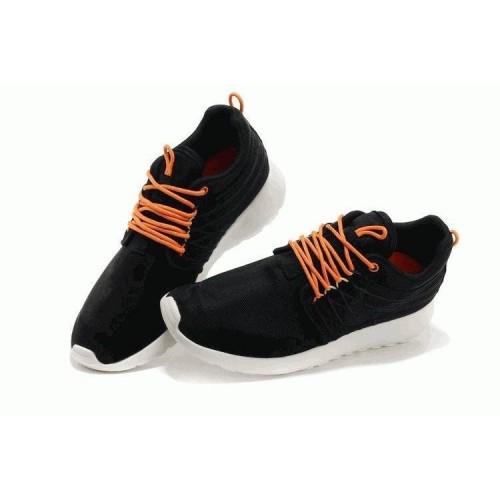 Кроссовки Nike Roshe Run II Black Orange Knit (ОА211)