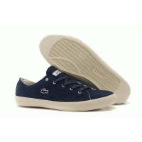 Кеды Lacoste Seed Casual Blue Canvas (ОЕ-651)