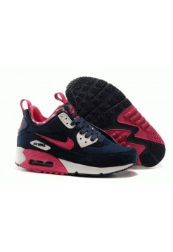 Кроссовки Nike Air Max Sneakerboot Blue Navi Pink