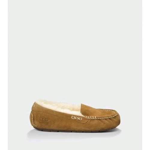 UGG ANSLEY SLIPPERS CHESTNUT