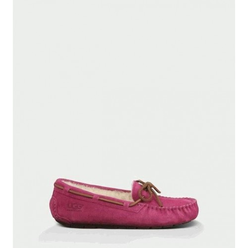 UGG DAKOTA SLIPPERS DARK DUSTY ROSE