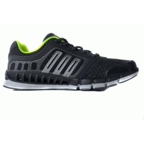 Кроссовки Adidas ClimaCool Черный-салатовый