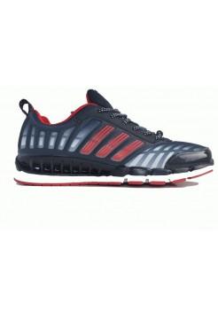Кроссовки Adidas ClimaCool Черный-красный (К157)