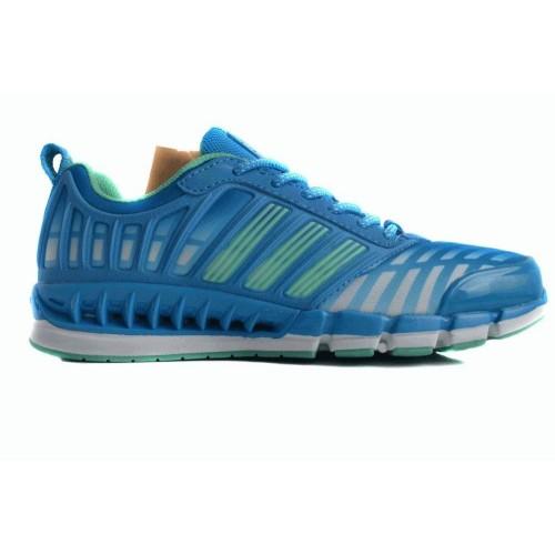 Кроссовки Adidas ClimaCool Синий-зеленый (К168)