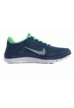 Кроссовки Free Run 5.0 Черный-зеленый (А517)