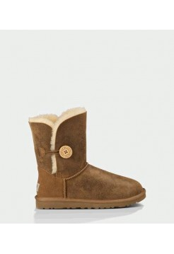 UGG BAILEY BUTTON BOMBER CHESTNUT (S172)