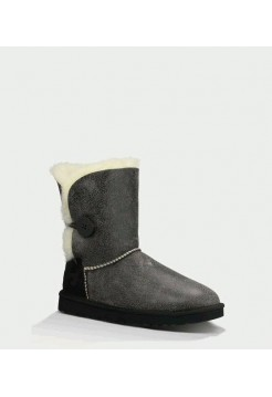 UGG Bailey Button Bomber Grey (ОE751)