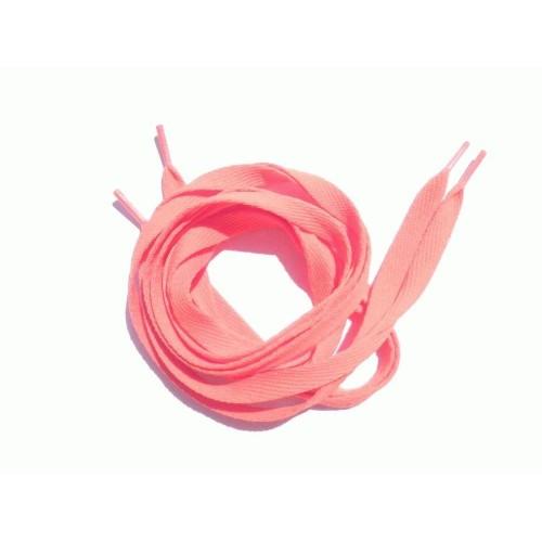 Шнурки светло-оранжевые