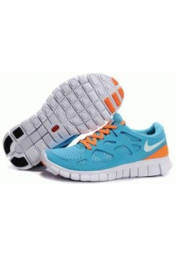 Кроссовки Nike Free Run Turquoise 08M Bl/Or