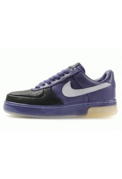 Кроссовки Nike Air-Force Purple Black (О-421)