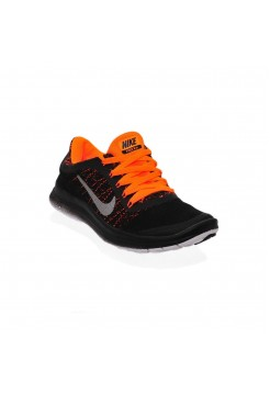 Кроссовки Nike Free Run Bl/Orange (М-364)