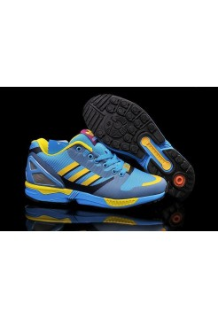"Кроссовки Adidas Originals ZX 8000 FLUX ""OG AQUA"" (О862)"