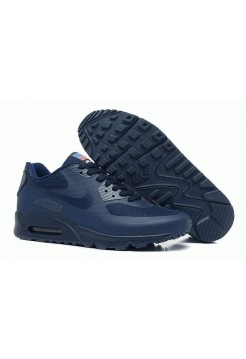 Кроссовки Nike Air Max 90 Hyperfuse Dark Blue USA (OMVЕ-573)