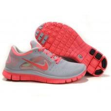 Кроссовки Nike Free Run Plus 3 Grey/Orange (О-217)