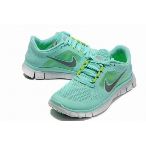 Кроссовки Nike Free Run Plus 3 Sea Blue (ОРVЕА166)