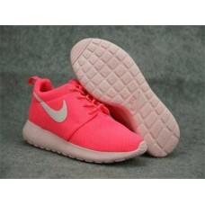 Кроссовки Nike Roshe Run Розовые (А812)