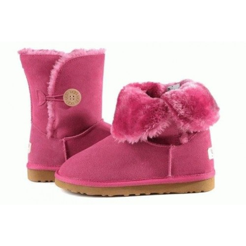 UGG BABY BAILEY BUTTON PINK