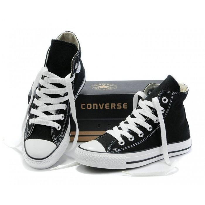Черные кеды Converse