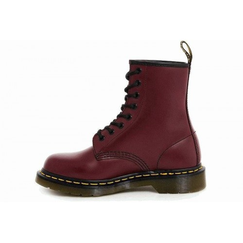 "Ботинки Dr.martens cherry red smooth ""vegan"" (О421)"
