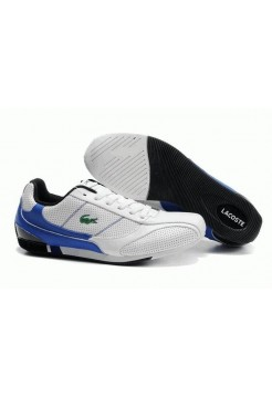 Кроссовки Lacoste Running Shoes Blue White (О-656)