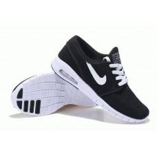 Кроссовки Nike SB Stefan Janoski Max B/W Suede (ОМV-521)