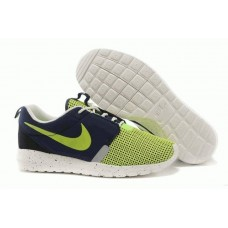 Кроссовки Nike Roshe Run II Fly Green Navy (О-523)