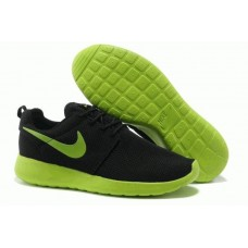 Кроссовки Nike Roshe Run II Black Green (О-417)