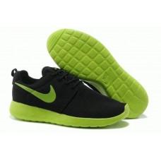Кроссовки Nike Roshe Run II Black Green (О-417)